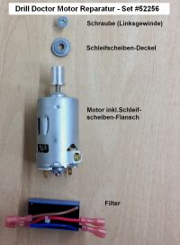 Drill Doctor  Motor Reparatur Set